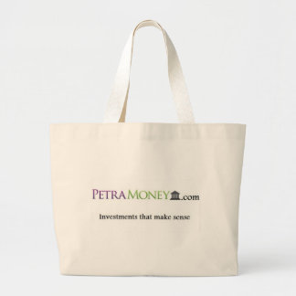 Petraのお金プロダクト ラージトートバッグ