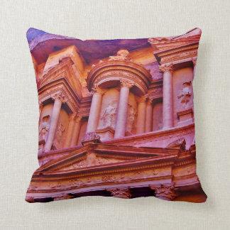 Petraの宝庫の建物 クッション