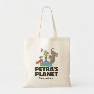 Petraの惑星のロゴのトートバック トートバッグ