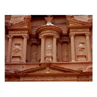 Petraの郵便はがき、ヨルダン ポストカード