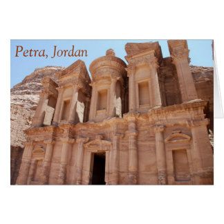 Petraヨルダン宮殿の墓 カード