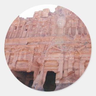 Petraヨルダン宮殿の墓 ラウンドシール