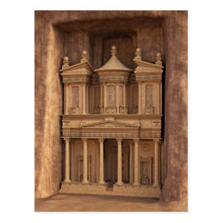 Petra、ヨルダンの宝庫 ポストカード