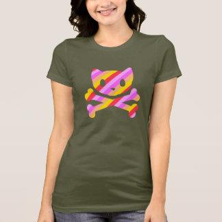 PetsamiのディスコはGalsを縞で飾ります Tシャツ