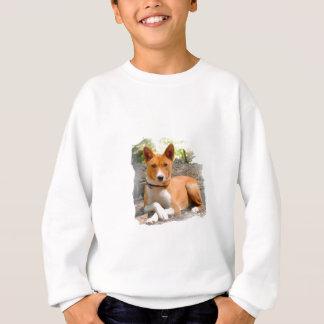 PetVenturesUSA著Basenjiの猟犬の服装 スウェットシャツ
