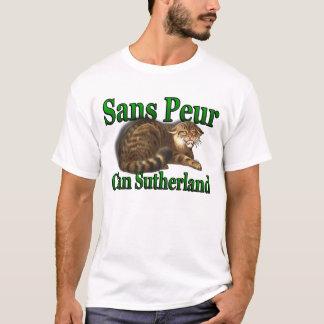 Peurの高地のゲームのワイシャツSans一族サザランド Tシャツ