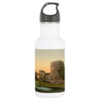 Pevenseyの城、東のサセックス、イギリス ウォーターボトル