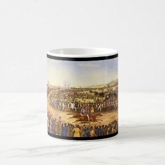 PeytonaおよびFashion_Engravings コーヒーマグカップ