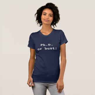 Ph.Dかバスト! Tシャツ