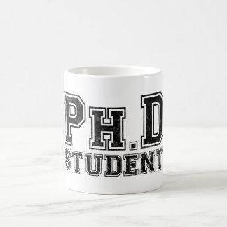Ph.D学生 コーヒーマグカップ