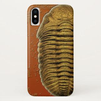 PhacopsのラナのCrassituberculataの化石Trilobite iPhone X ケース