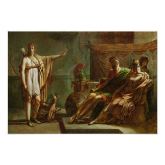 PhaedraおよびHippolytus 1802年 ポスター