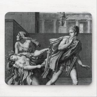 Phaedra、OenoneおよびHippolytus マウスパッド