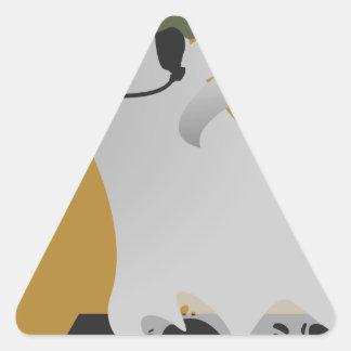 PhanTacticalの基本的なテンプレート項目 三角形シール