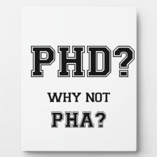 PhDか。 なぜないPhAか。 大きな期待のアジア人の父 フォトプラーク