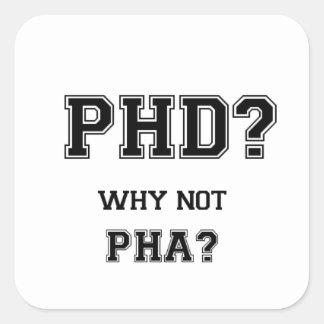 PhDか。 なぜないPhAか。 PhDの卒業のギフト スクエアシール