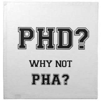 PhDか。 なぜないPhAか。 PhDの卒業のギフト ナプキンクロス