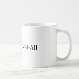 PhDの女性の卒業、Know-It-All Mug先生 コーヒーマグカップ