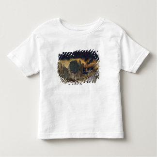 Phedre 1917年からの景色のデザイン(色のlitho) トドラーTシャツ