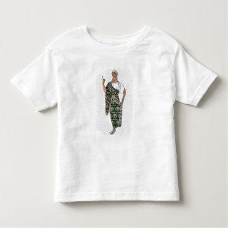 Phedre 1917年からの衣裳のデザイン(色のlitho) トドラーTシャツ