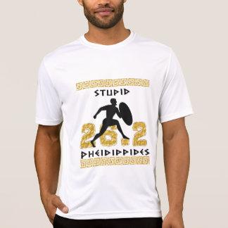Pheidippidesの愚かなマラソンの連続したスポーツTek SS Tシャツ