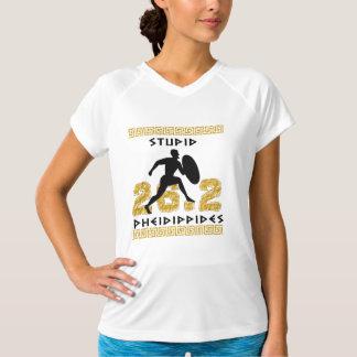 Pheidippidesの愚かなマラソンの連続したチャンピオンSS Tシャツ