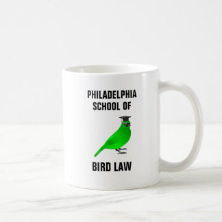 Philadelphia School of Bird Law コーヒーマグカップ