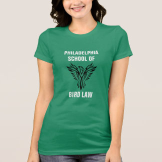 Philadelphia School of Bird Law Kelly Green Tシャツ