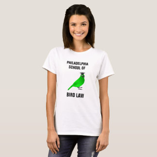 Philadelphia School of Bird Law Tシャツ