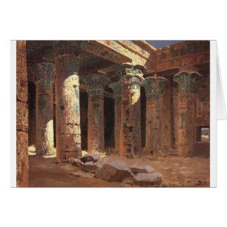 Philaeの島Vasily PolenovのIsisの寺院 カード