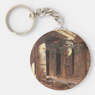 Philaeの島Vasily PolenovのIsisの寺院 キーホルダー