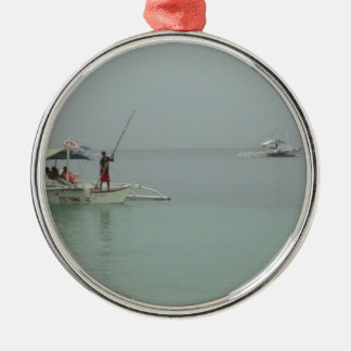 philipinoの漁師 メタルオーナメント