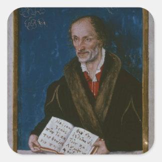 Philipp Melanchthonのポートレート スクエアシール