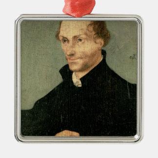 Philipp Melanchthon 1532年のポートレート メタルオーナメント