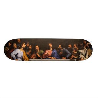 Philippe de Champaigne (1648年)著最後の晩餐 21.6cm スケートボードデッキ