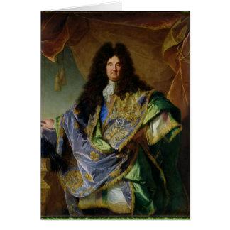 Philippe de Courcillon Marquisのポートレート カード