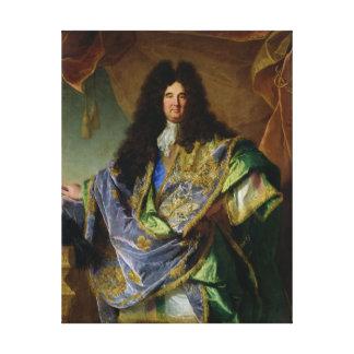 Philippe de Courcillon Marquisのポートレート キャンバスプリント