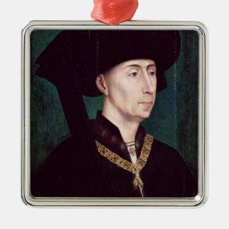 Philippe III le Bon、Duc deブルゴーニュ、c.1445 メタルオーナメント