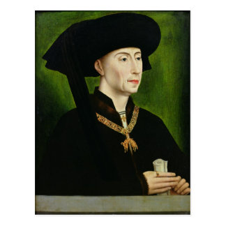 Philippe le Bon Duc deブルゴーニュのポートレート ポストカード