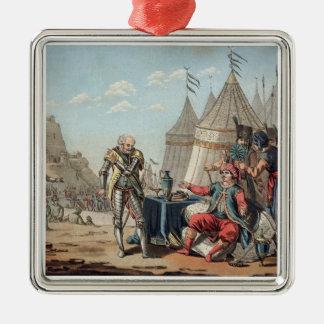 Philippe Villiers de L'Isleアタムの(1464-1534年の) refus メタルオーナメント
