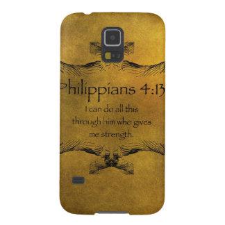 Philippiansの4:13 Galaxy S5 ケース