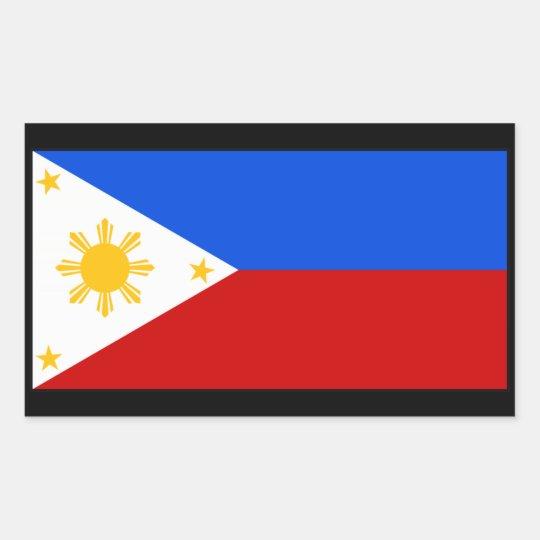Philippines 長方形シール