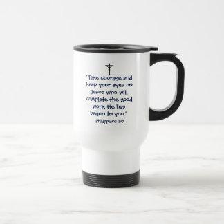 Phillipiansの1:6のタンブラー トラベルマグ