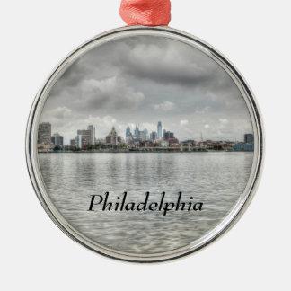Phillyのスカイライン メタルオーナメント