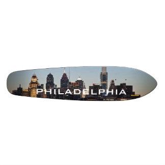 Phillyの日没 スケートボード
