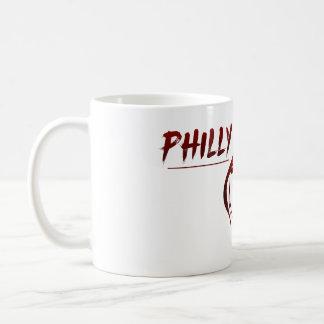 Phillyの粉砕のロゴのマグ コーヒーマグカップ