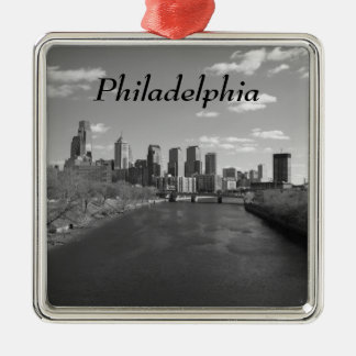 Philly b/w メタルオーナメント