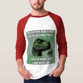 Philosoraptorのナンセンス Tシャツ