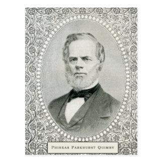 Phineas Parkhurst Quimby 001の郵便はがき ポストカード