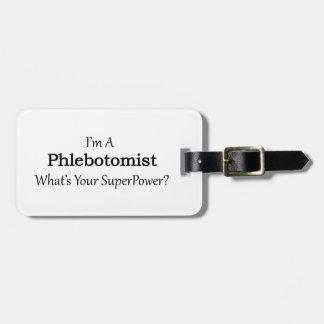 Phlebotomist ラゲッジタグ